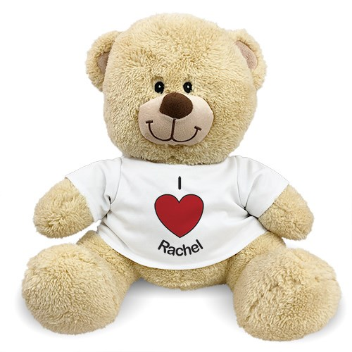 Personalized I Heart You Teddy Bear 834981X
