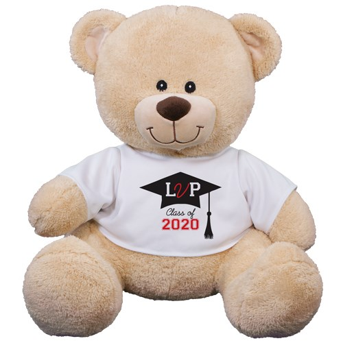 Personalized Monogrammed Graduation Teddy Bear | Personalized Graduation Bear