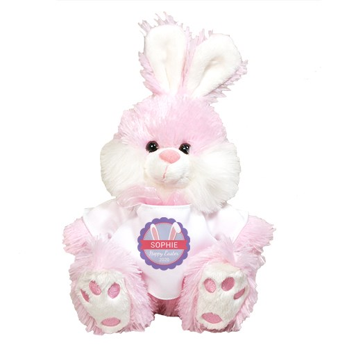 Personalized Bunny Ears Pink Easter Bunny 8BP83100039PK