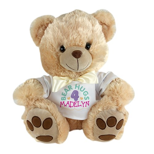 Happy Birthday Teddy Bear | Personalized Teddy Bear With Shirt