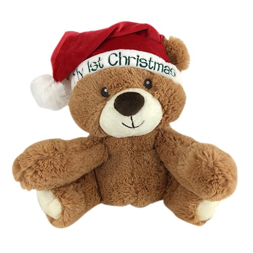 Baby's 1st Christmas Teddy Bear | My First Christmas Bear