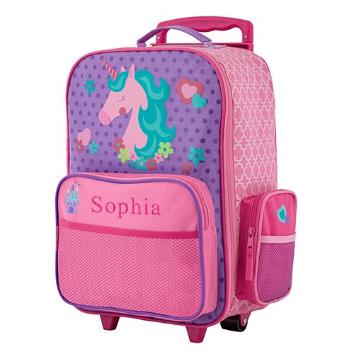 Embroidered Unicorn Gifts | Personalized Luggage For Girls