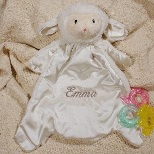Embroidered Baby Lamb Gifts | Personalized Gifts For Baby