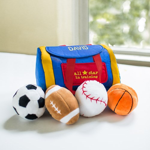 Embroidered Baby Gifts | Personalized Sports Gifts For Baby