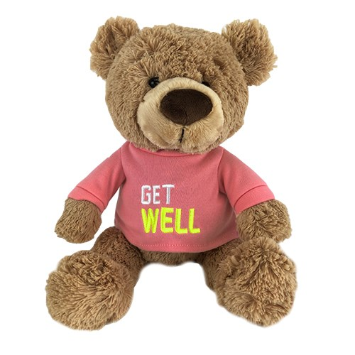Non Personalized Teddy Bear | Get Well Bear