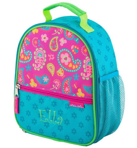 Girl's Personalized Lunch Bag | Embroidered Lunch Bag