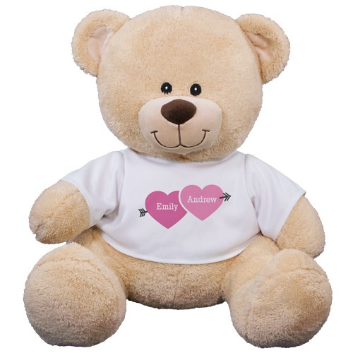 Personalized Love Arrow Teddy Bear | Valentine's Day Teddy Bear