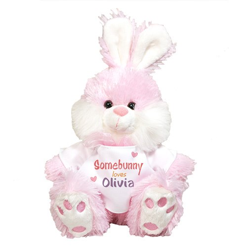 Somebunny Loves Me Pink Bunny 8BP8306509PK