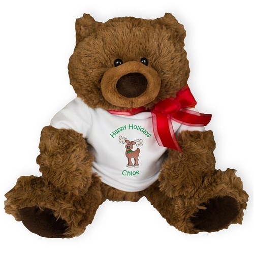 Personalized Holiday Coco Bear AU0983-4630X