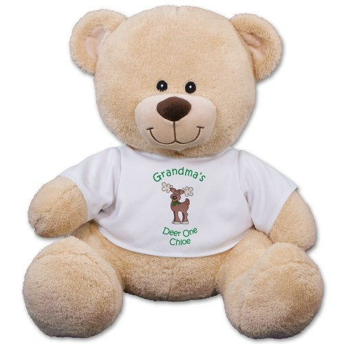 Personalized Reindeer Teddy Bear 834630x