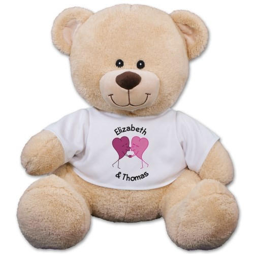 Personalized Romantic Teddy Bear 834745X