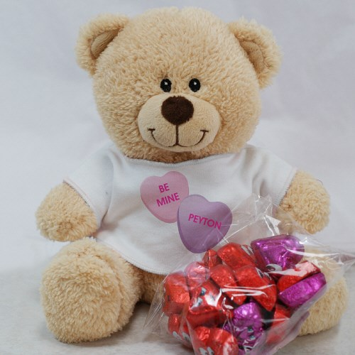 Be Mine Teddy Bear with Chocolate Hearts 83000B13-5330C