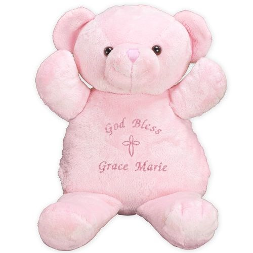 Embroidered Religious Teddy Bear for Her 8BE3154101