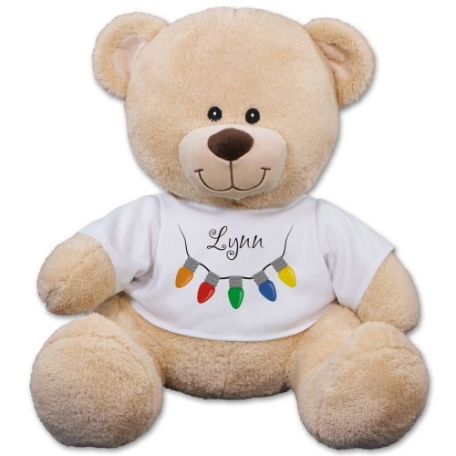 Holiday Lights Teddy Bear 8B838091X