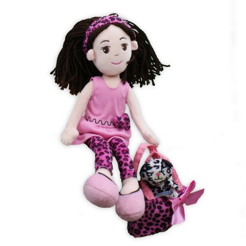 Pinky Promise Leopard Dress Doll AU19232NP