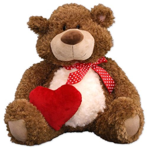 Oscar Bear | Personalized Valentine's Day Teddy Bear