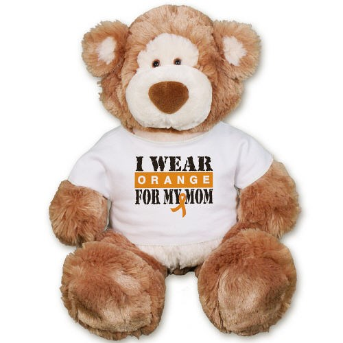 Personalized Multiple Sclerosis Awareness Teddy Bear GU15314-4160