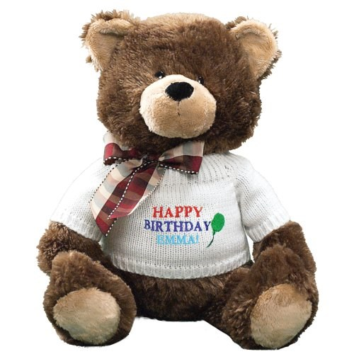 Embroidered Happy Birthday Teddy Bear GU4030262-5883