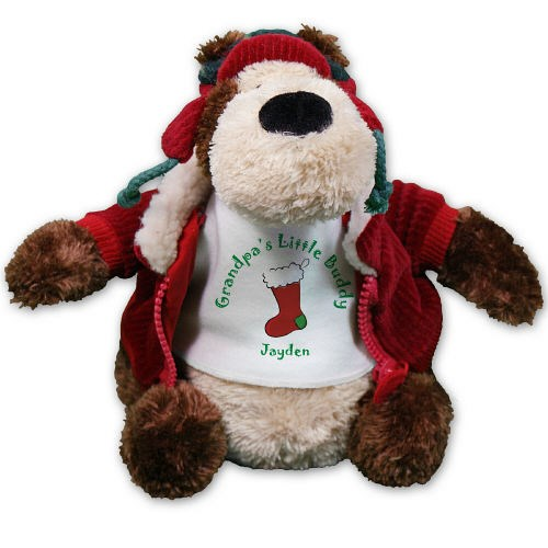 Personalized Christmas Stocking Teddy Bear GU88862HJ-4971