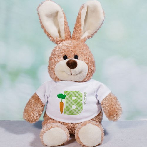 Personalized Initial Easter Bunny 8B8674628