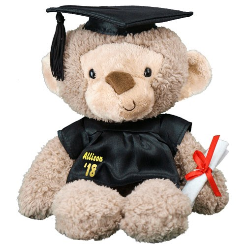 Graduation Cap and Gown Monkey GU320599-1703