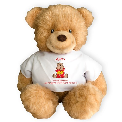 Personalized Merry Christmas Ginger Bear GU405911-4629X