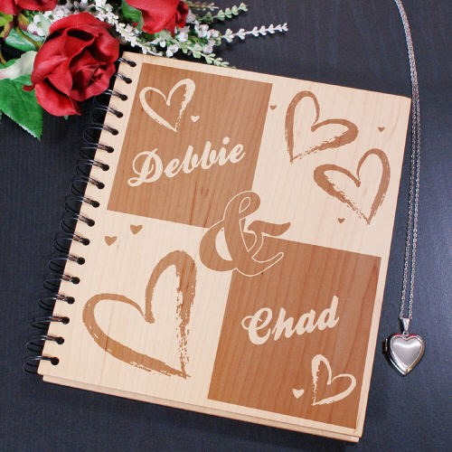 Engraved Couples Photo Album 8B752264