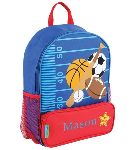 Embroidered Sports Backpack | Personalized Backpacks For Kids