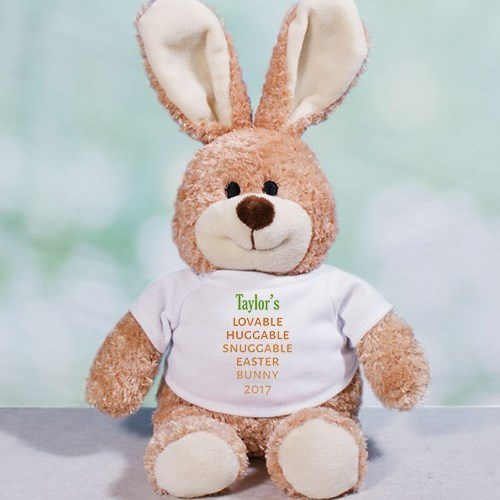 Personalized Carrot Love Easter Bunny 8B86101058L
