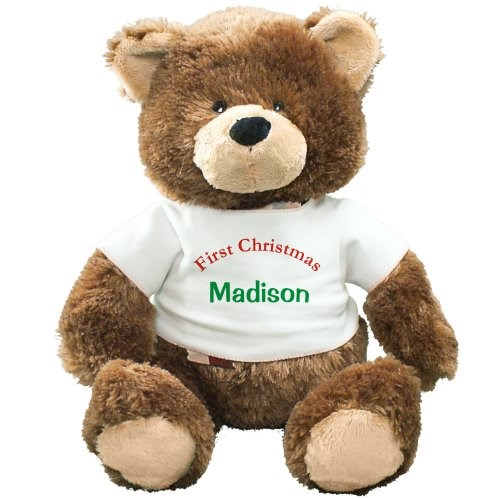 Personalized First Christmas Teddy Bear GU4030262-6209